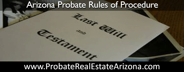 Rule 11 of the Arizona rules of Probate Procedure became effective on January 1, 2013.